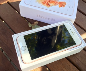 apple, iphone 6s rose gold, and beautiful image