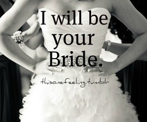 black and white, bride, and photography image