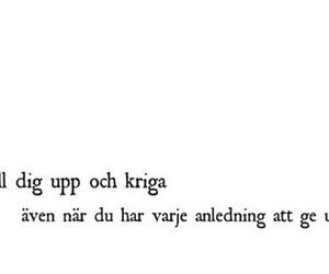 quote, svenska, and swedish image