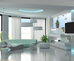 white, design, and home image