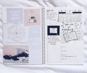 book, note, and college image