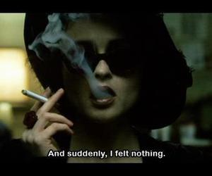 nothing, smoke, and quotes image