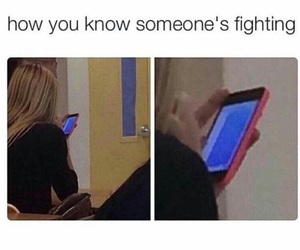 funny, fighting, and message image