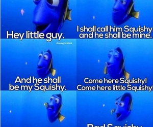 finding nemo, squishy, and dory image
