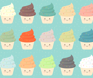 cupcake, kawaii, and cute image