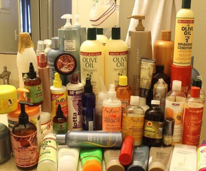 natural and hair products image