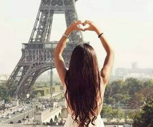 paris, girl, and love image