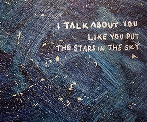 art, quotes, and blue image