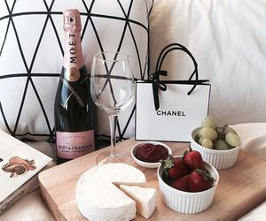 food, chanel, and cheese image