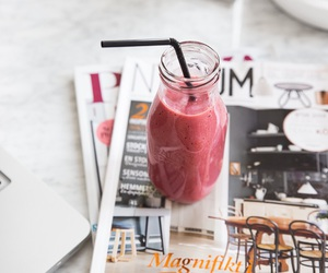 drink, smoothie, and healthy image
