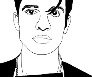 band, black, and brendon urie image