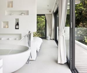 bathroom, interior, and bathtub image