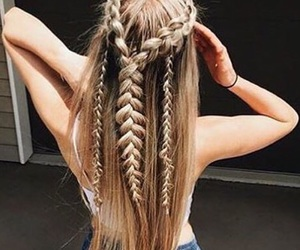 adorable, braid, and inspiration image