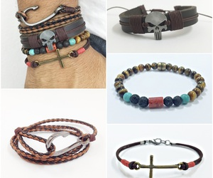bracelets, fashion, and mens bracelets image