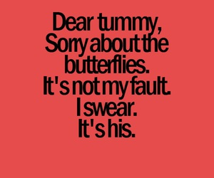 butterflies, love, and quote image