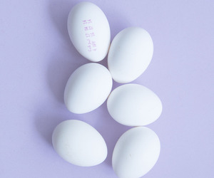 purple, eggs, and pastel image