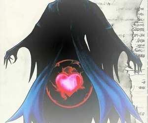 black, heart, and heartless image