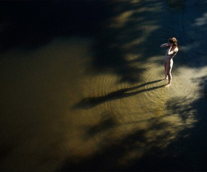 adventure, girl, and river image