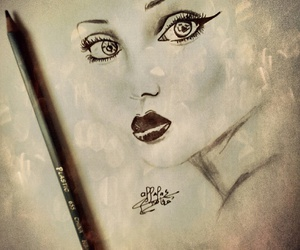 art, beautifulgirl, and beauty image