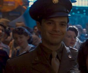 bucky, captain america, and sebastian stan image