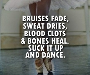 dance, motivation, and quotes image