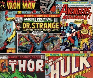 Avengers, covers, and Marvel image