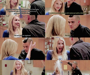 glee, Quinn, and puck image