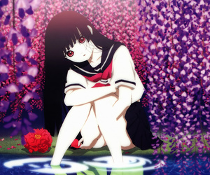 anime, jigoku shoujo, and hell girl image