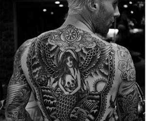 adam levine, tattoo, and singer image