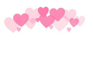 overlay, hearts, and pink image