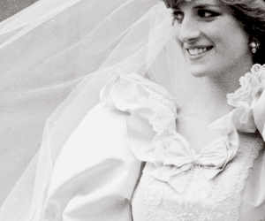 lady di, princess diana, and wedding image
