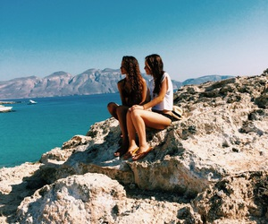 colors, fashion, and Greece image