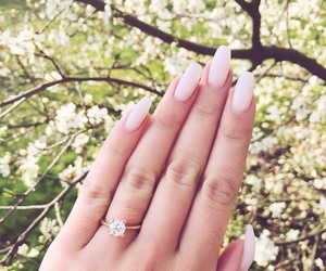 nails, spring, and fashion image