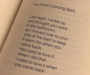 couple, sad, and come back image