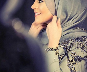beauty, gris, and hijab image