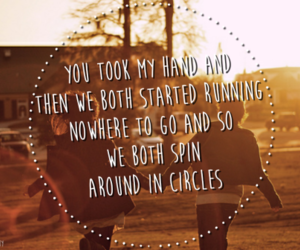 circles, Lyrics, and pierce the veil image