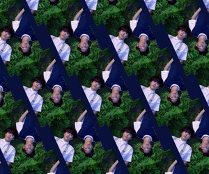 background, Chen, and exo image
