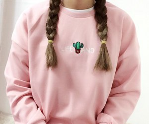 girl, tumblr, and sweater image