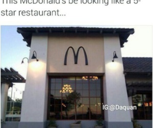 McDonalds, funny, and lol image