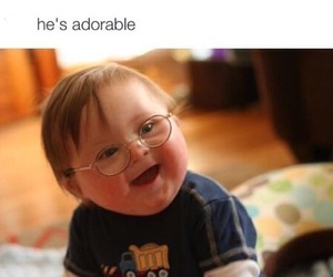 adorable, baby, and OMG image