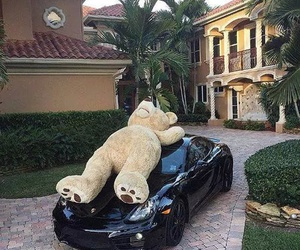 car, luxury, and bear image