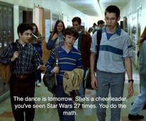 freaks and geeks, cheerleader, and quotes image