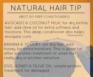 natural hair, tips, and hair tips image