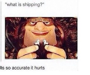 shipping, funny, and tumblr image