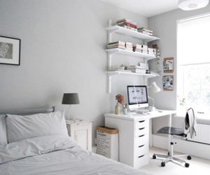 white and bedroom image