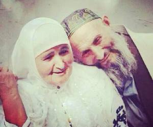 muslim, couple, and old image