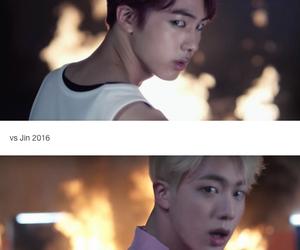 jin, seokjin, and fire image