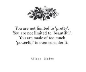 alison, pretty, and quote image