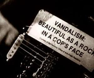 vandalism, guitar, and grunge image