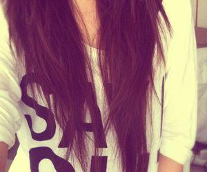 brown, girl, and brownhair image